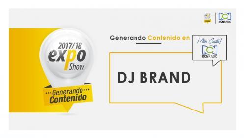 DJ BRAND EXPO BUCARA 2017-2018