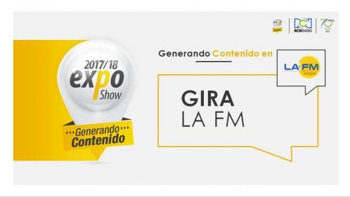 GIRA DESPERTAR FM BUCARA EXPO2017-2018