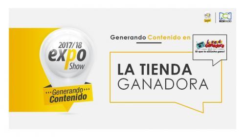 LA TIENDA GANADORA BUCARA EXPO 2017-2018