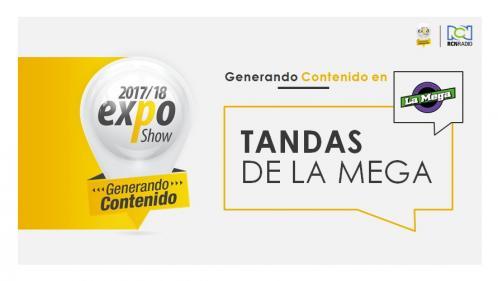 LAS TANDAS DE LA MEGA BUCARA EXPO 2017-2018
