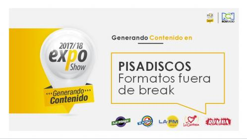 PISADISCOS EXPO BUCARA 2017-2018