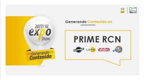 PRIME RCN EXPO BUCARA 2017-2018
